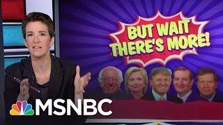 Bernie Sanders Campaign Rewrites History Of Losses | Rachel Maddow | MSNBC