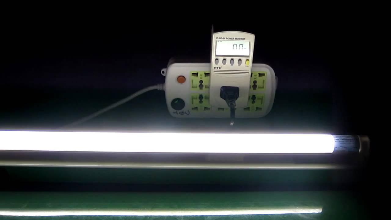 Led T8 Lamp Vs Traditional Fluorescent Lamp