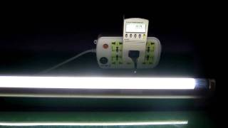 led t8 lamp vs traditional fluorescent lamp