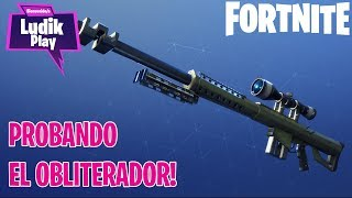 TESTING THE NEW FRANC: OBLITEADOR! FORTNITE SAVE THE WORLD ENGLISH GAMEPLAY