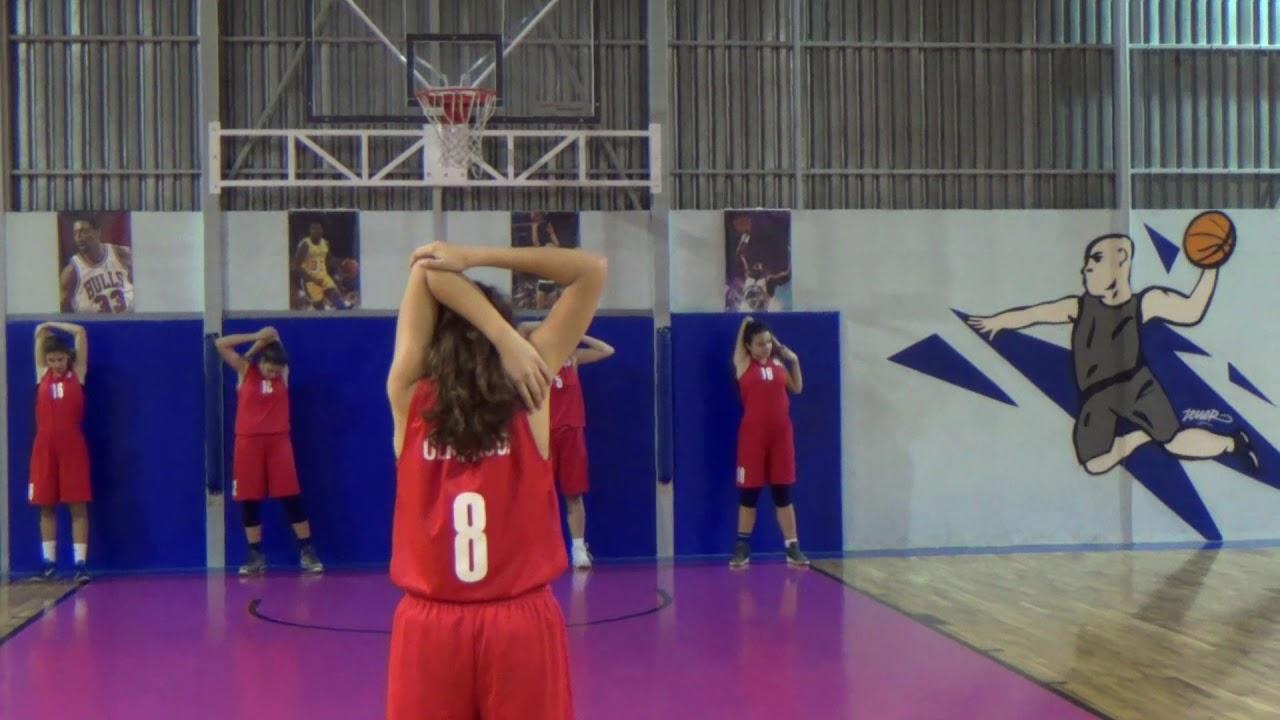 Ακαδημίες Μπάσκετ κοριτσιών 2017/18. Το promo video από το yt channel « Olympiacos SFP »