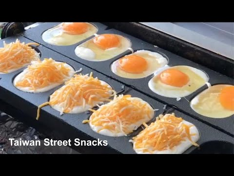 Taiwanese Street Snacks | Egg & Cheese Pancake and Oyster Pancake