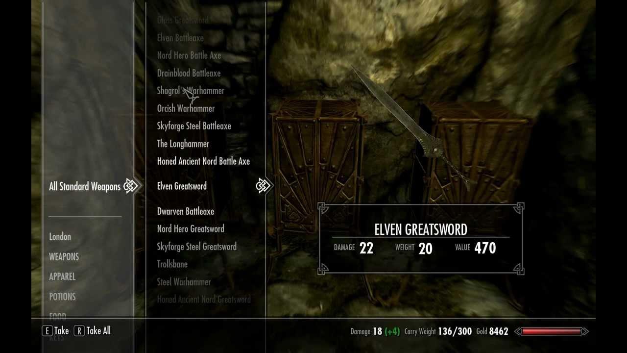 Elder Scrolls 5 Skyrim читы
