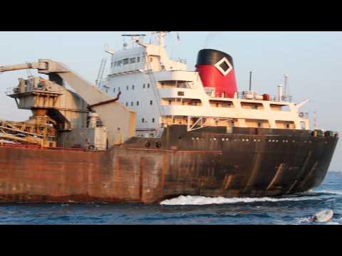 Lake Freighter Canadian Navigator