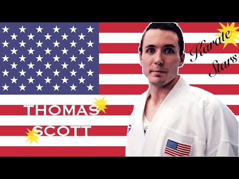 Get to know Karate Star THOMAS SCOTT