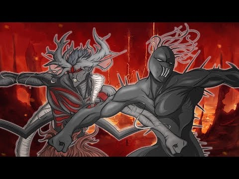 Scarlet King VS Chaos King - (SCP vs Marvel)
