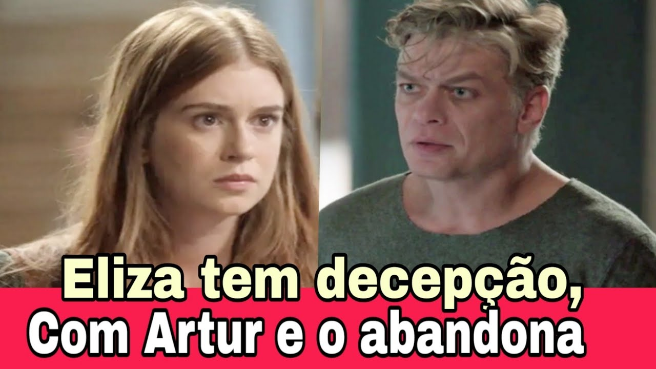 Totalmente demais'após decepção, Eliza abandona Arthur Totalmente Demais Jonatas