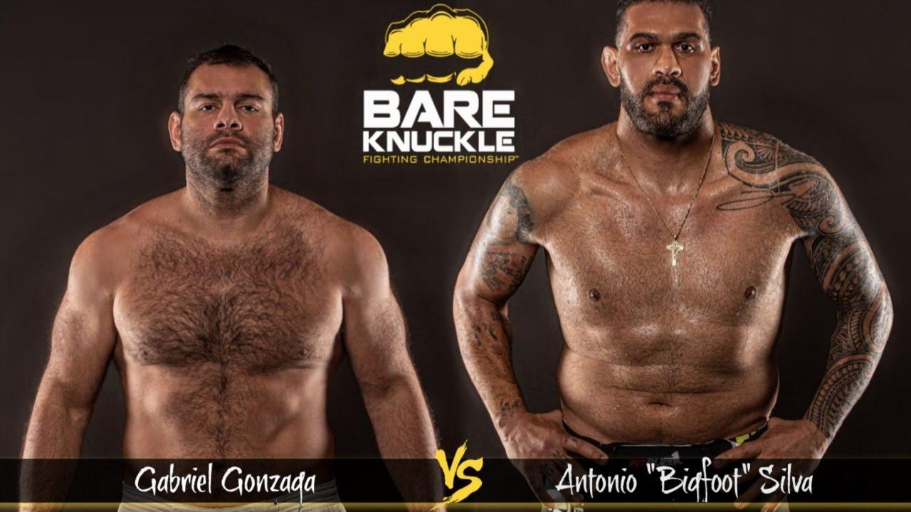 """Crazy Heavyweight Exclusive! Gonzaga vs. """"Big Foot"""" Silva - BKFC 8"""