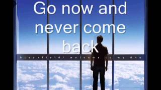 Blackfield - DNA (lyrics on screen)