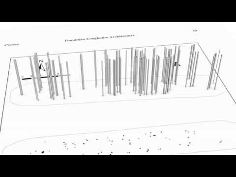 3D Post Clustering of an Iroquoian Longhouse