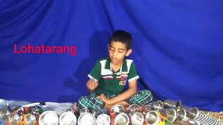 Mere sapno ki rani kb aayegi tu- instrumental with little kid
