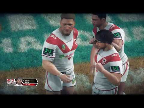 Rugby League Live 3 (PS4) | Dragons v Warriors