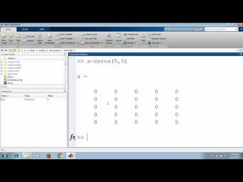 MATLAB - Standard matrices