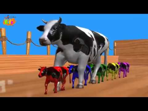 Cow Dance In Nepali Songs | Cow Videos | Wild Animals Videos For Kids