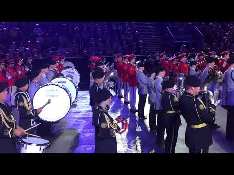 The Swiss Army Central Band Basel Tattoo 2018