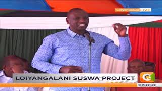 DP Ruto's speech during the commissioning of Loiyangalani Suswa Project