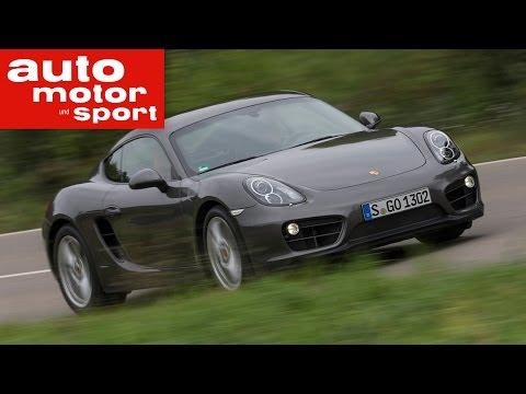 Fahrbericht Porsche Cayman