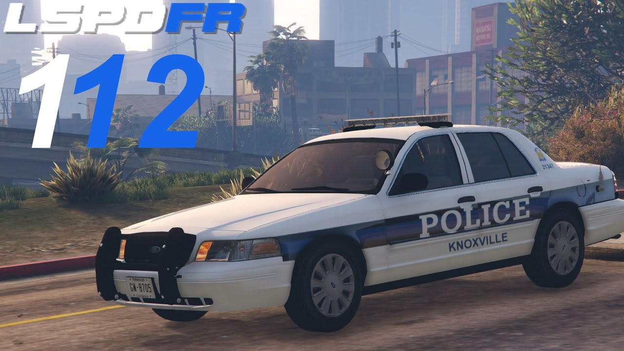 GTA 5 LSPDFR SP #112 Knoxville Police