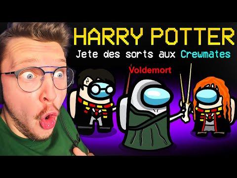Je deviens un SORCIER sur Among Us ! (mode Harry Potter)