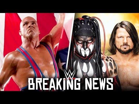 WWE Kurt Angle Wrestling at TLC 2017! AJ Styles vs Finn Balor! BREAKING NEWS!