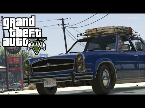 GTA V- Glendale 'Road Trip' (Rockstar Editor)