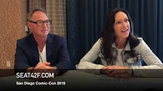Daniel Percival Isa Dick Hackett THE MAN IN THE HIGH CASTLE Comic Con Interview