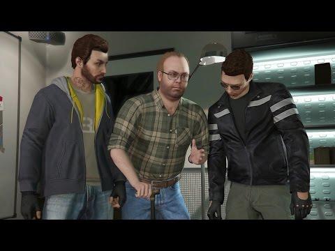 GTA 5 Online - Heist #1 - The Fleeca Job (Complete)