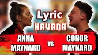 Camila Cabello - Havana (SING OFF vs. My Little Sister) - [LYRIC]