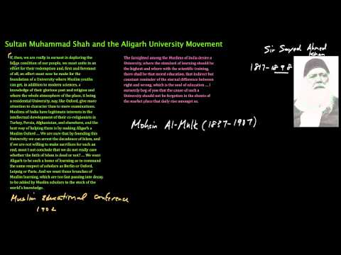 Sultan Muhammad Shah And The Aligarh University Movement