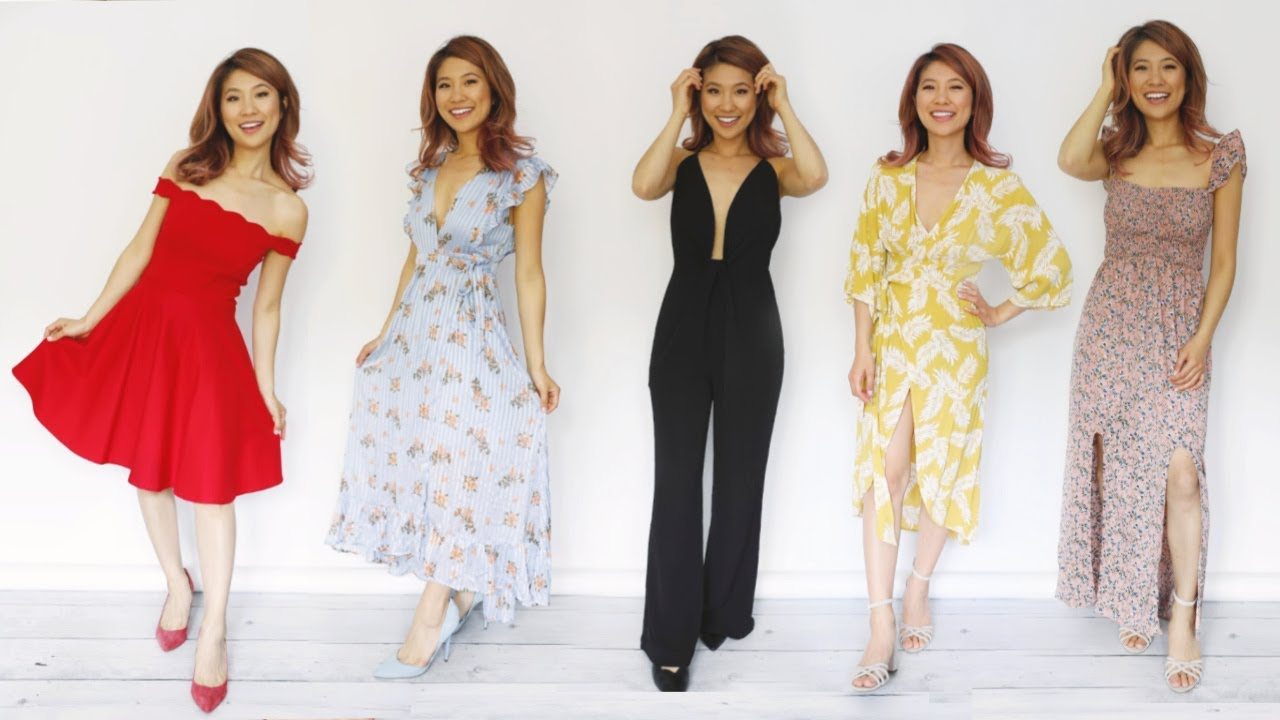 What to Wear to a Wedding! 6 Dress Styles!