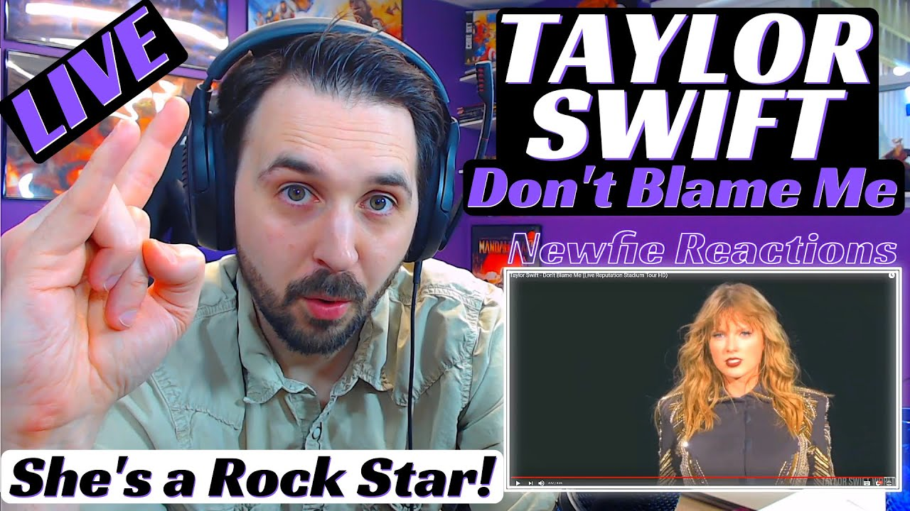 Taylor Swift Don't Blame Me Live | Reaction