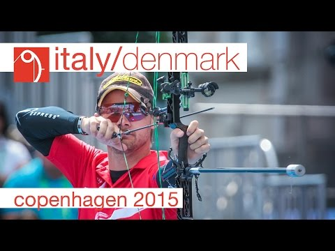 Italy v Denmark – Compound Men's Team Bronze Final | Copenhagen 2015