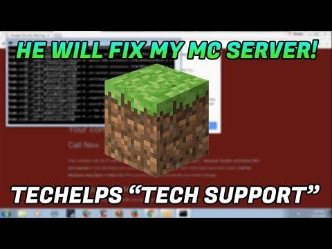 Tech Support Scam / Fix my Minecraft server?? - 1-844-730-7111 - www.techelps247.tech