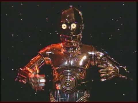 Star Wars C3PO and R2D2 interview soundbites...