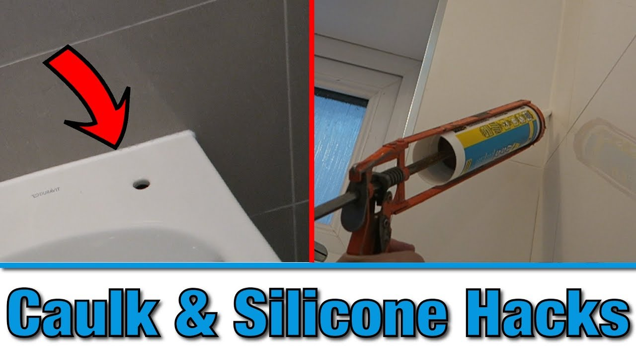 Bathroom Caulking How To Apply Caulk Silicone With Stunning Results Bathroom Hacks