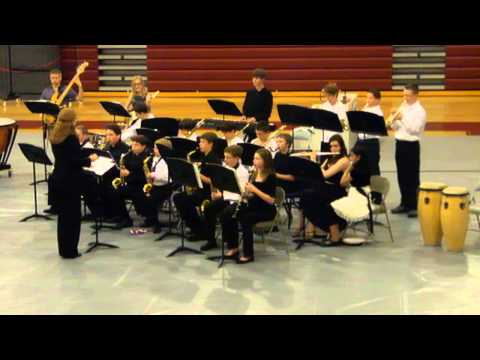 West Valley Middle School Jazz Band 2013 Song2