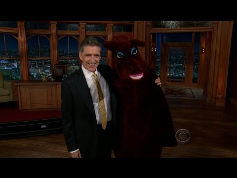Late Late Show with Craig Ferguson 1/9/2013 Steven Wright, G