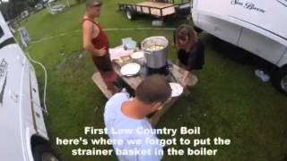 First Low Country Boil