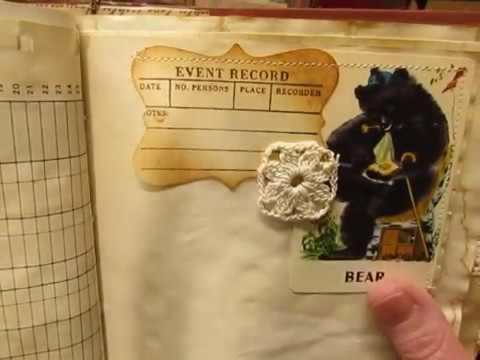 "Part 2 of my ""Opera"" vintage junk journal."
