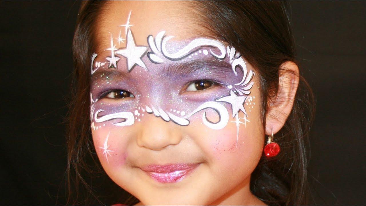 Fairy Face Painting Tutorial Purple Fairy Princess