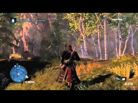 Assassin's Creed: Rogue - Treasure Map Location - 685, 575 - River Valley   Twin Snake Path [HD]