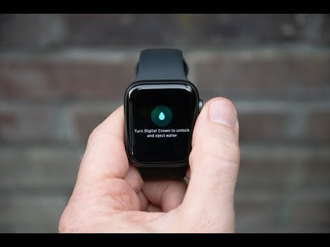 How to Remove Water from Apple Watch
