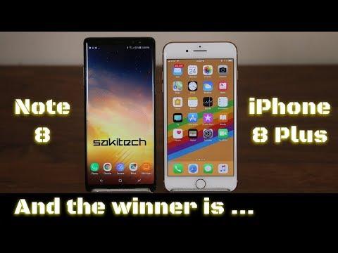 iPhone 8 Plus vs Samsung Galaxy Note 8: Full Comparison