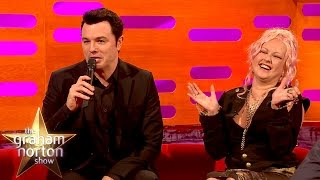 Download Video Seth MacFarlane Sings Cyndi Lauper's Greatest Hits As Stewie and Peter Griffin MP3 3GP MP4