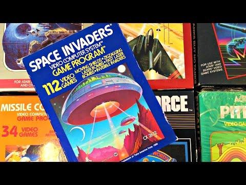 Atari 2600 Game Box Covers We Love - w/John Hancock