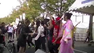 Orang Jepang nyanyi Kopi Dangdut,  Indonesia Festival 2016