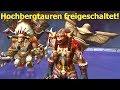 WoW Verbündete Völker - Freischaltung der Hochbergtauren Deutsch German HD