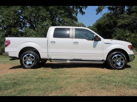 sold.2010 FORD F-150 SUPERCREW LARIAT 4X2 5.4 FORD CERTIFIED FORD OF MURFREESBORO 888-439-8045
