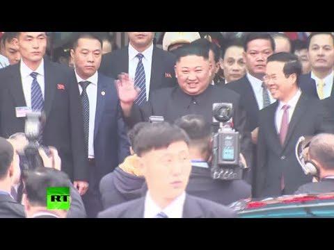 N. Korea's Kim arrives in Vietnam ahead of summit with Trump