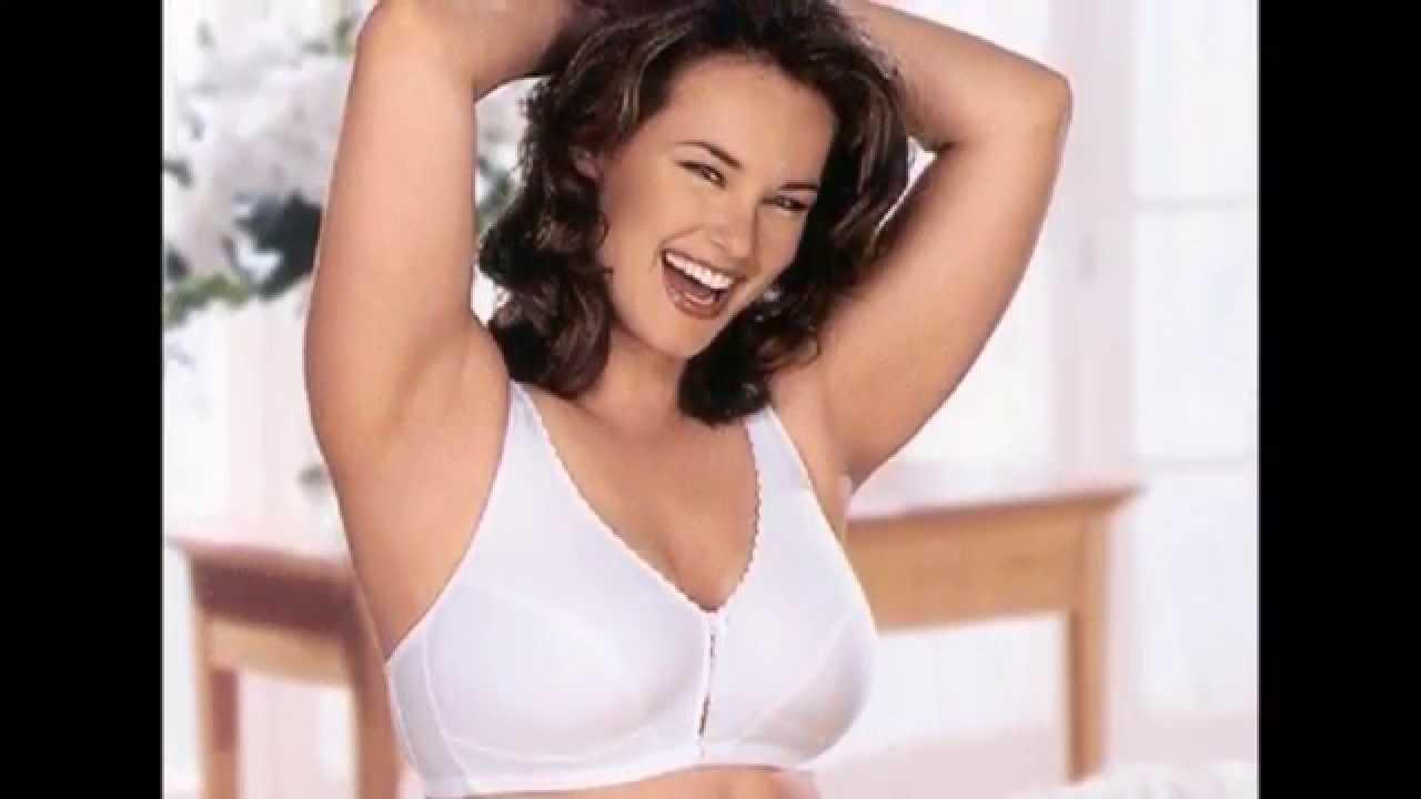 Plus Size Model Barbara Brickner - YouTube